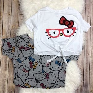 Hello Kitty | Bundle of 2 Crop Tops Size Small